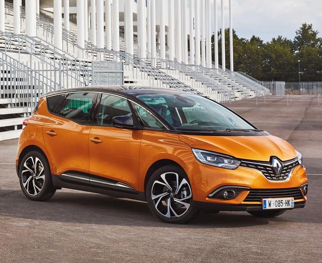 Trzy razy Renault