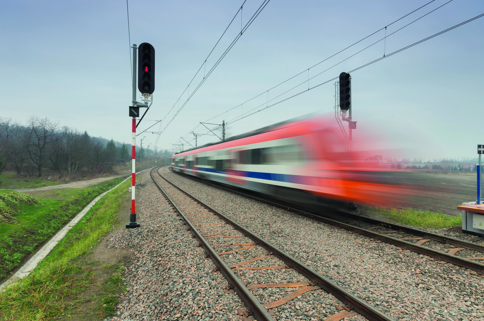 Pociąg do kolei niestety, opóźniony