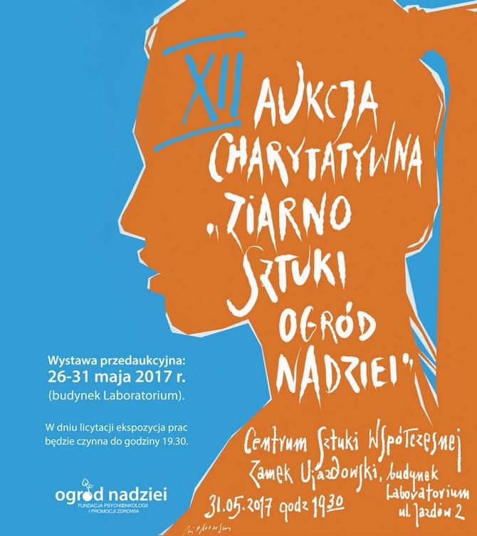 """Katalog XII Aukcji Charytatywnej """"ziarno SZTUKI – ogród NADZIEI"""" – otwarcie wystawy przedaukcyjnej"""