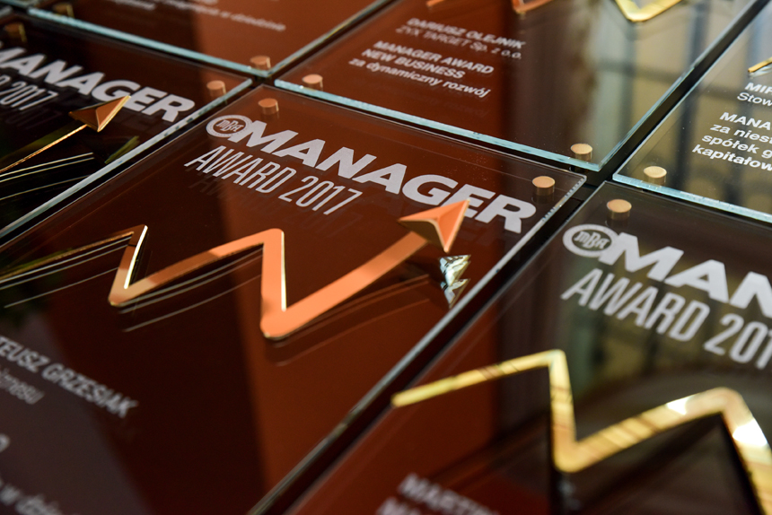 Nagrody Manager Award 2017 rozdane