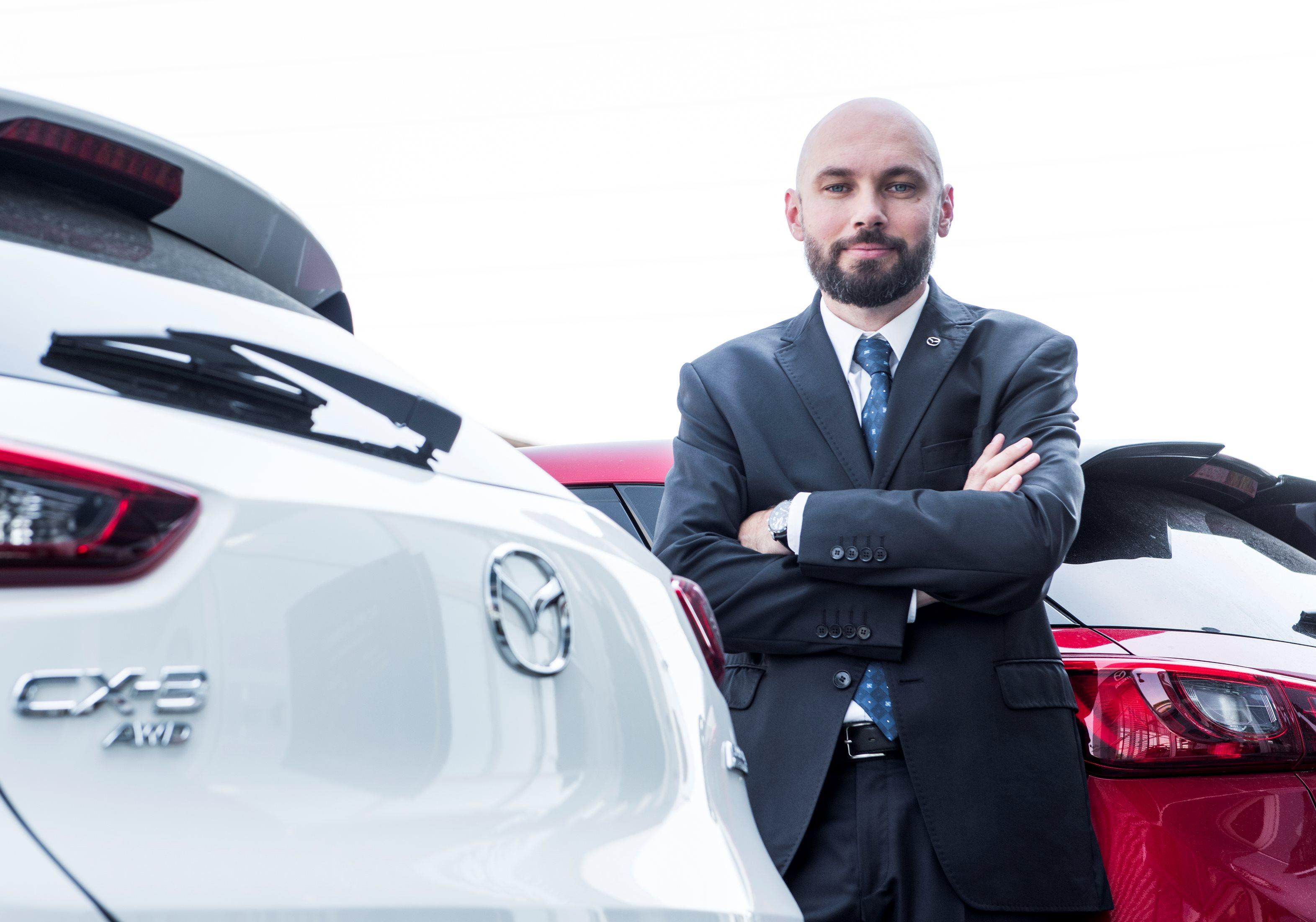Szymon Sołtysik Dyrektorem PR Mazda Polska