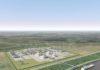 Wizualizacja terminalu eksportowego Plaquemines, który ma zostać oddany do użytku w 2023 r.